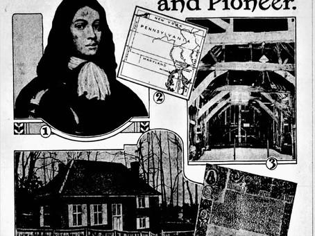 William Penn Quaker and Pioneer Article