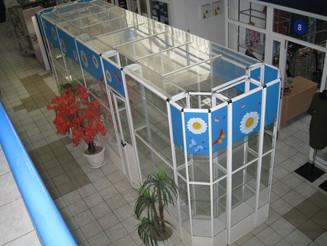Аптечный павильон 1,5 х 6м