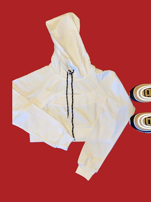 White Rose Pullover