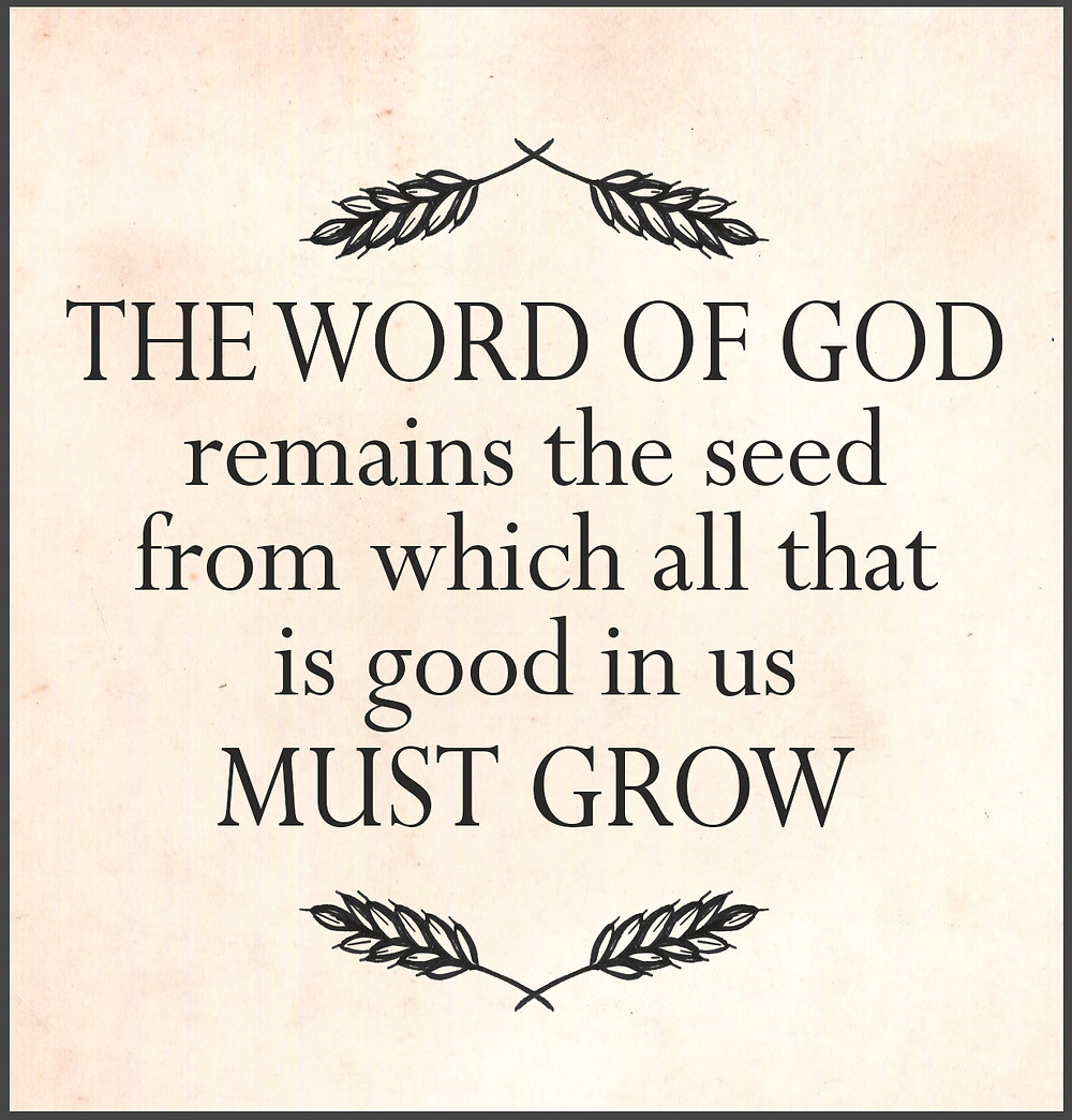 Spener quote - Word of God