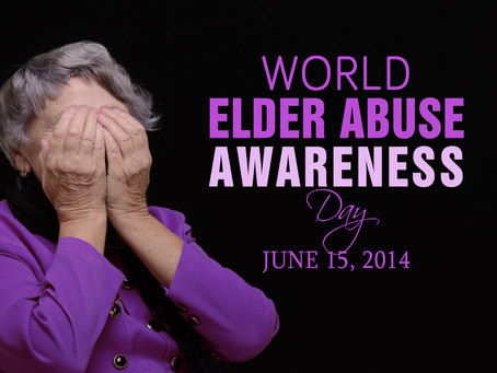 Are you closing your eyes to elder abuse?