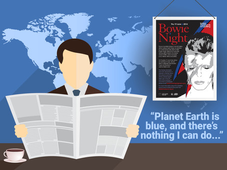 Planet Earth is Blue, and There's Nothing I Can Do...