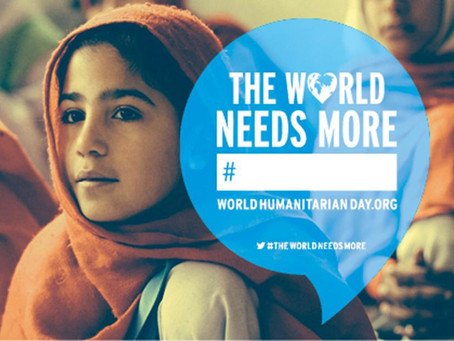 World Humanitarian Day 19 August 2014