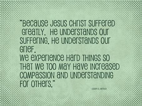 Peace through suffering