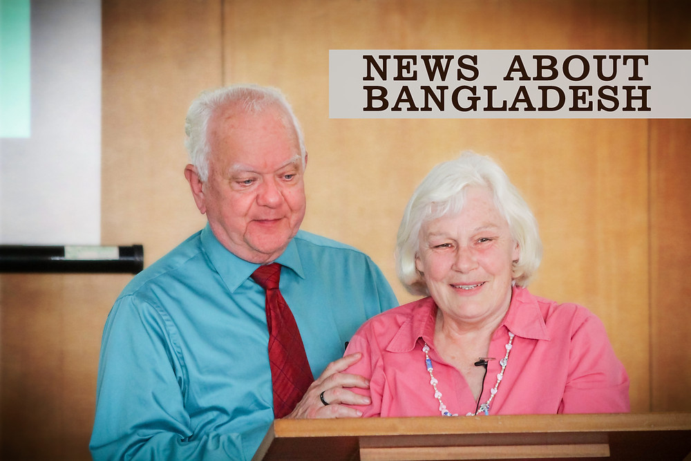 Robin & Arline Connelly speak about Bangladesh