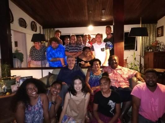 Dennis Visits Australia and Fiji