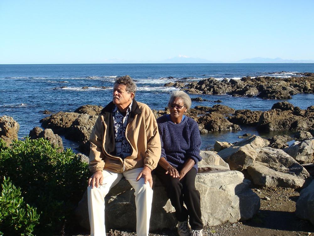 William & Carmen Davies  2009 in NZ