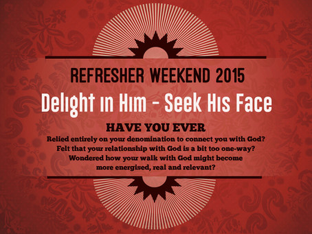 Delight in Him - Seek His Face