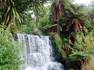 A_Waterfall_in_Rainbow_Spring_Rotorua_NZ