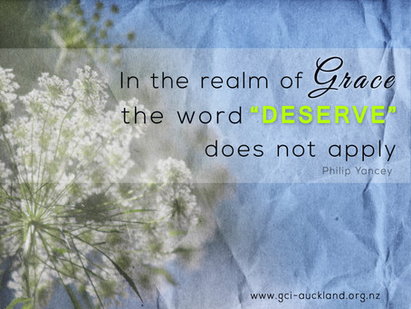 Deserving of Grace?