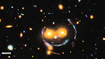A Smiley Face in Space!