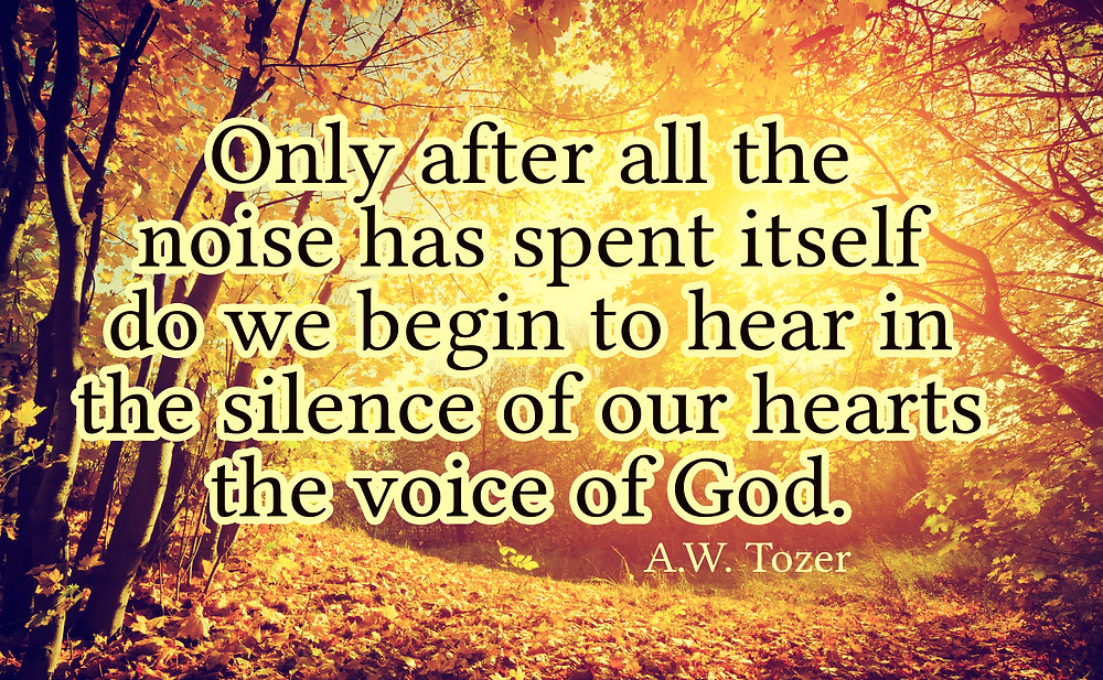 Hearing the voice of God in silence