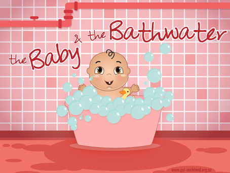 Stuck in the bathwater