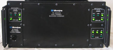 Package 4- Microdyne RC-4000 Dual channe