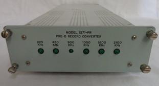 1271-PR Pre-D Recorder Converter