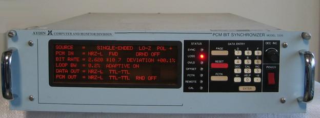 3335 PCM Bit Synchronizer