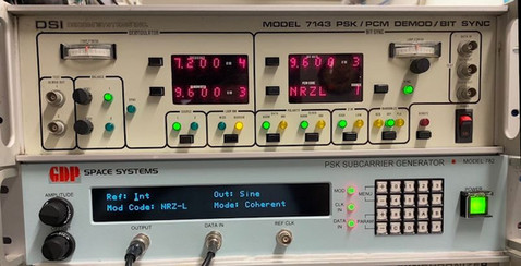 DSI Decom 7143 PSK/PCM Demod/Bit Sync