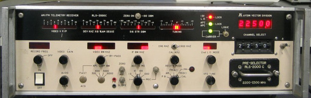 RLS-2000C AM/FM Telemetry Receiver