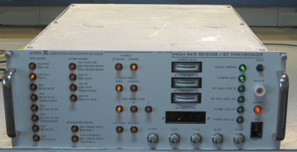 High Rate Receiver/Bit Sync