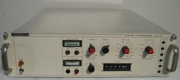 336 PCM Bit Synchronizer