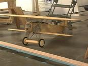 Fokker D7 RC Model Airplane by Aero Telemetry