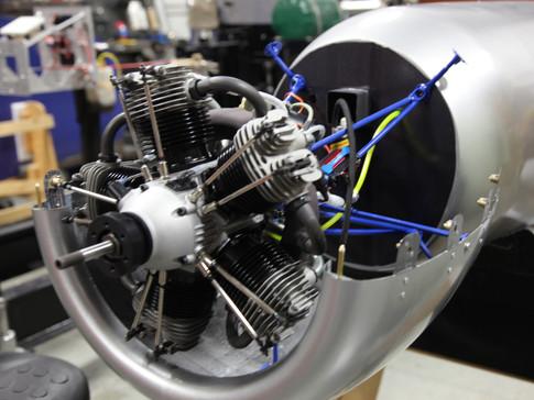 H1 Engine mounted