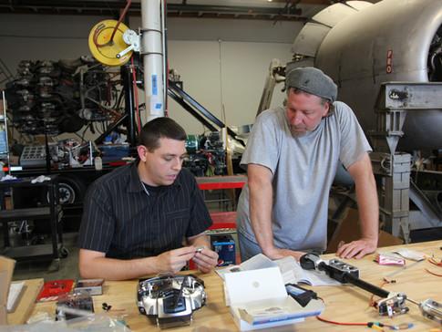 Joe and Jonathan discuss the radio set up.