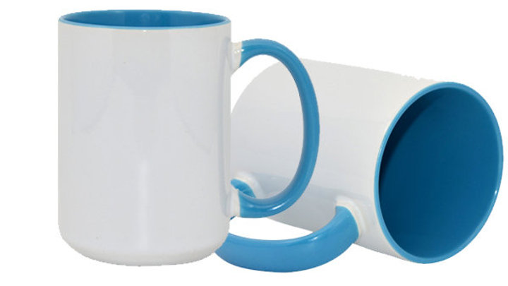 Coffee Mugs with Colour Insert