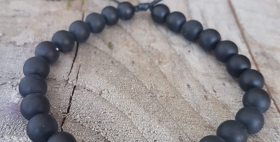 """Mala Bracelet """"Black Velvet"""""""