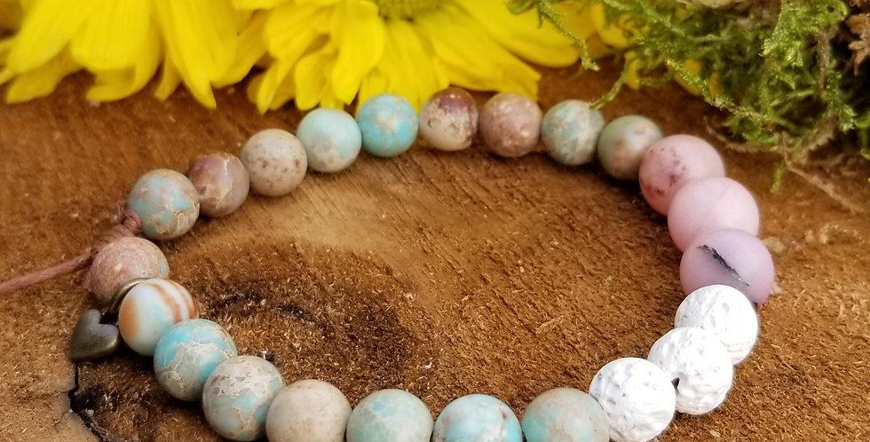 """Mala Bracelet """"Cotton Candy"""""""