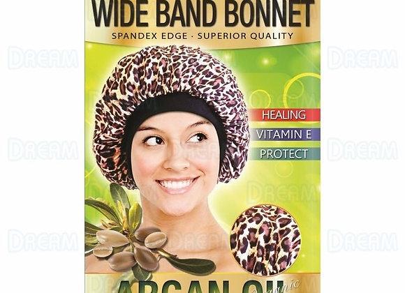 Argan Oil Leopard Wide Band Bonnet