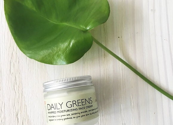 THP Apothecary Daily Greens Whipped Facial Cream