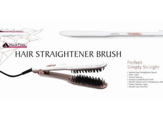 J2 Hair Straightener Brush
