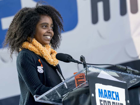 Quote of the Month: April 2018 - Naomi Wadler