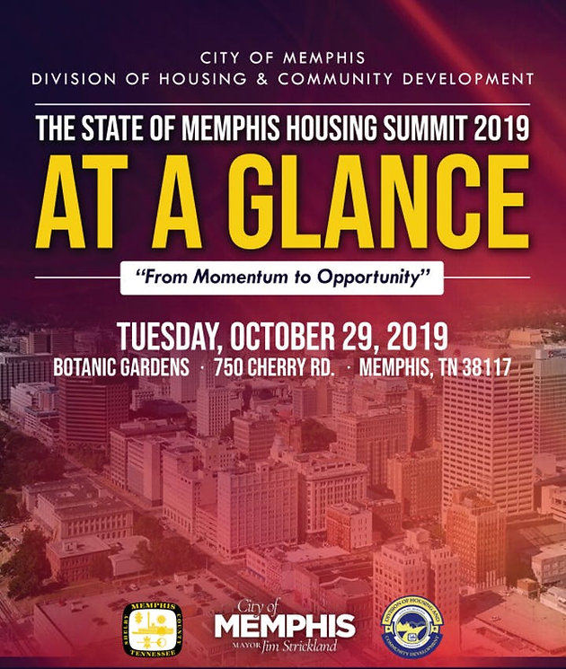 Presented at the City of Memphis' Housing Summit