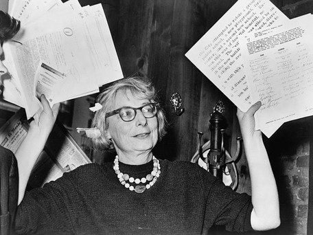 Quote of the Month: Jane Jacobs - May 2017