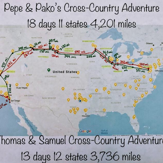 Cross Country Adventure