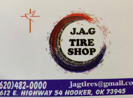 Welcome to Hooker J.A.G Tire Shop