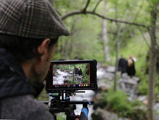 Reprenem el rodatge al Pirineu entre l'Alt Pallars i l'Aran!!