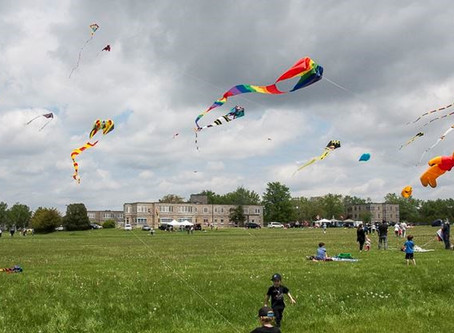 Spending the day up in the air at Strawberry Fields Kite Festival