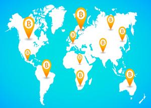Bitcoin no Mundo