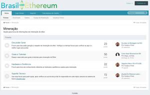 Mineração Ethereum