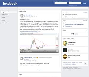 Facebook Litecoin