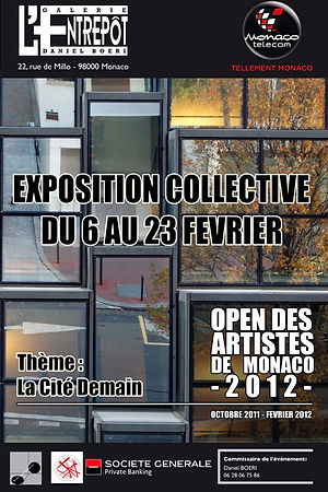 Participation à L'Open des artistes