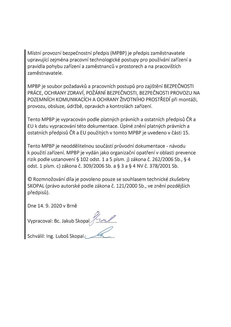 Náhled MPBP