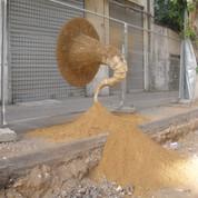 Gramophone, Street Installation in collaboration with Joni Rokotnitz, 2010