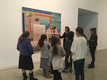 Nuzha Art Jaffa visiting Tlv Museum