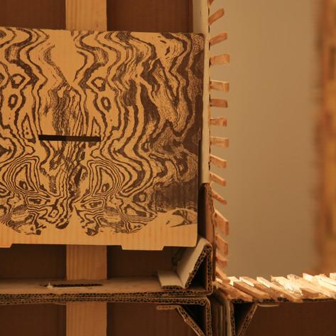 Installation 2008, detail