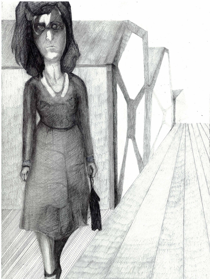 Untitled, Pencil on Paper, 2009