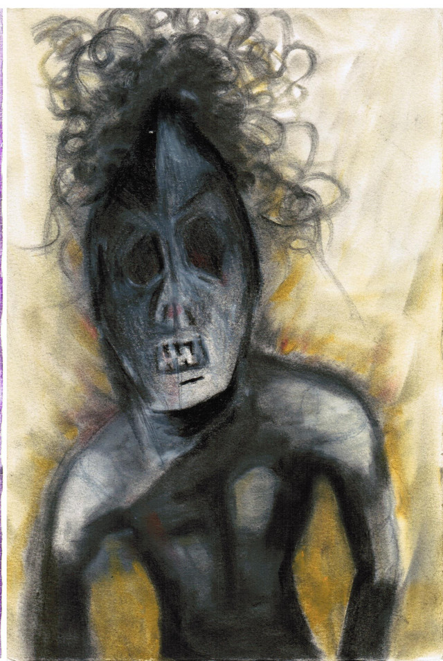 Untitled, Charcoal on Paper, 2011